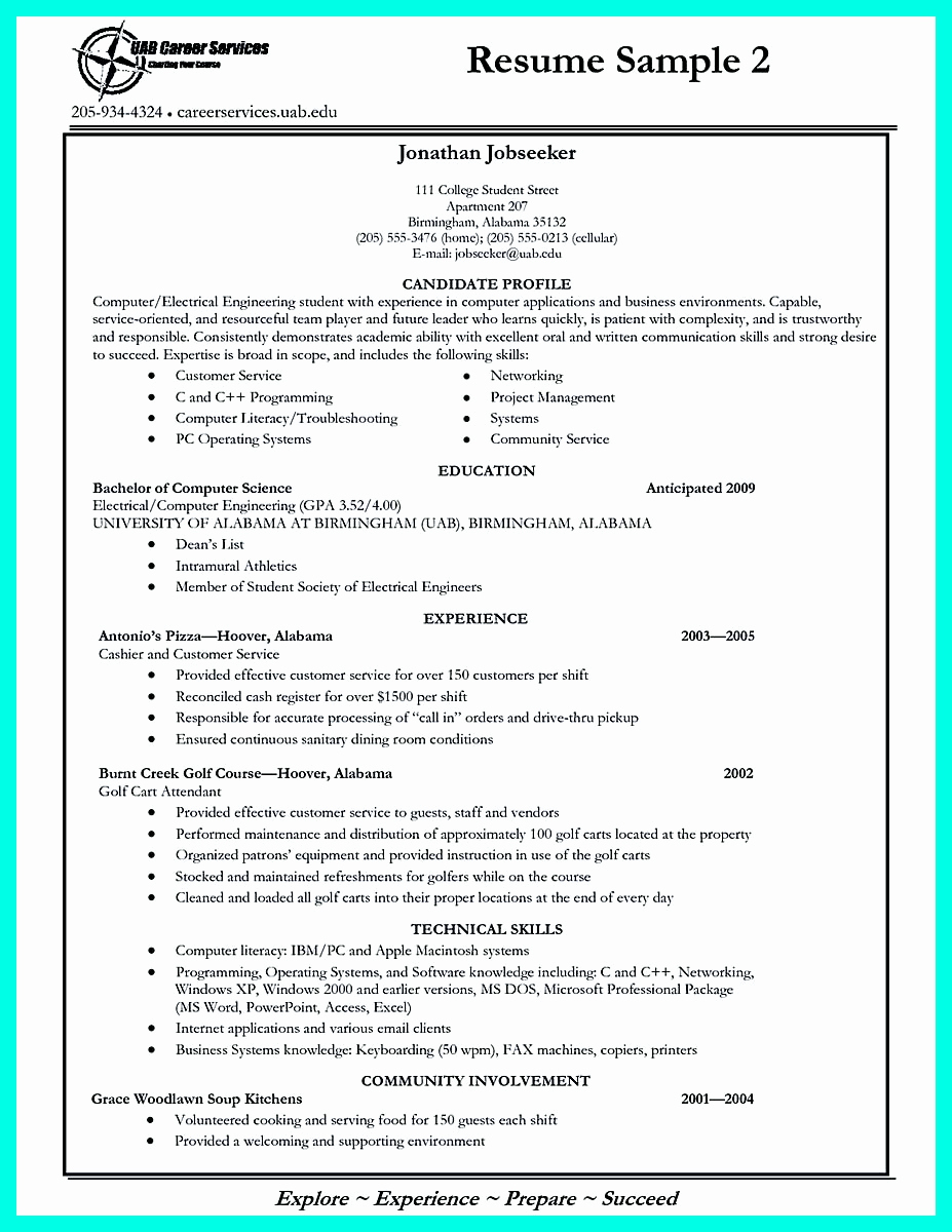 College Application Resume Examples Best Of Write Properly Your Ac Plishments In College Application