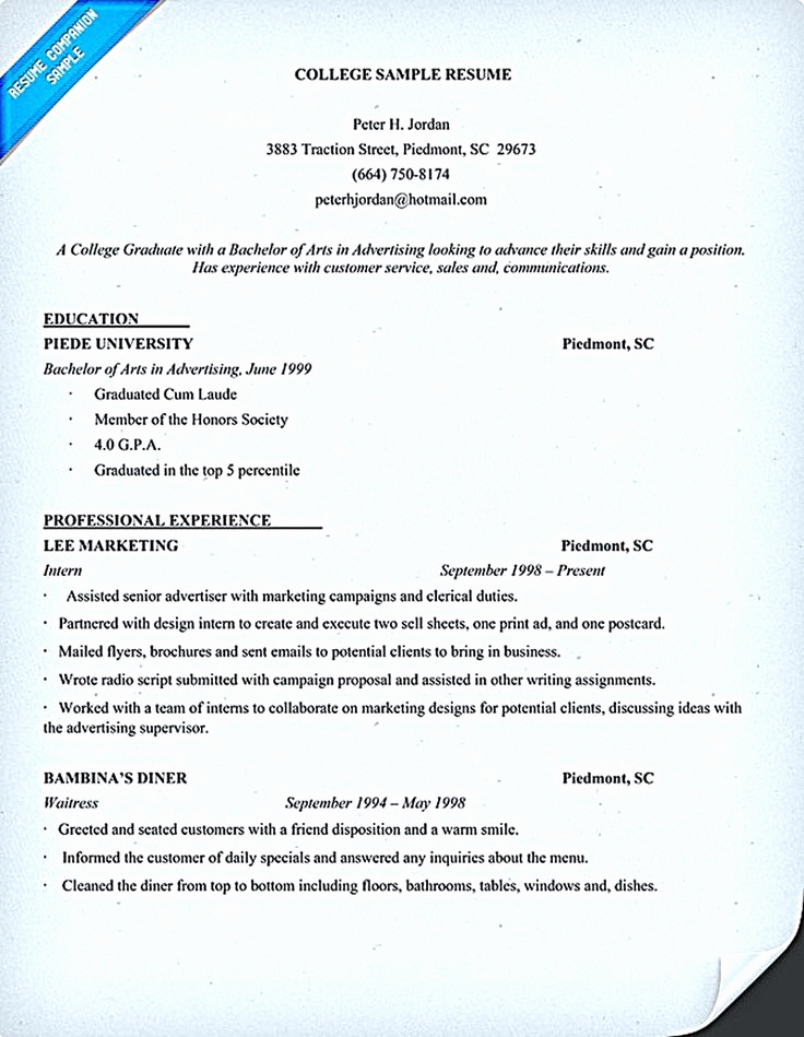 College Application Resume Examples Fresh Best 25 Student Resume Ideas On Pinterest