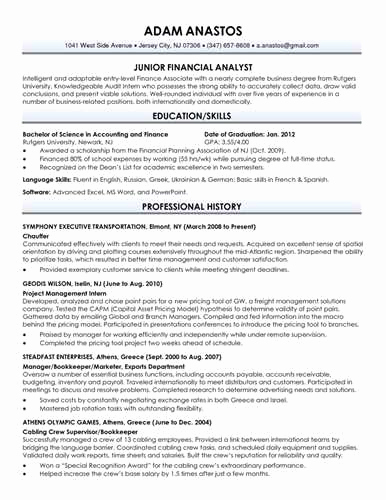 College Graduate Resume Template Lovely Download Your Free Recent College Graduate Resume Template