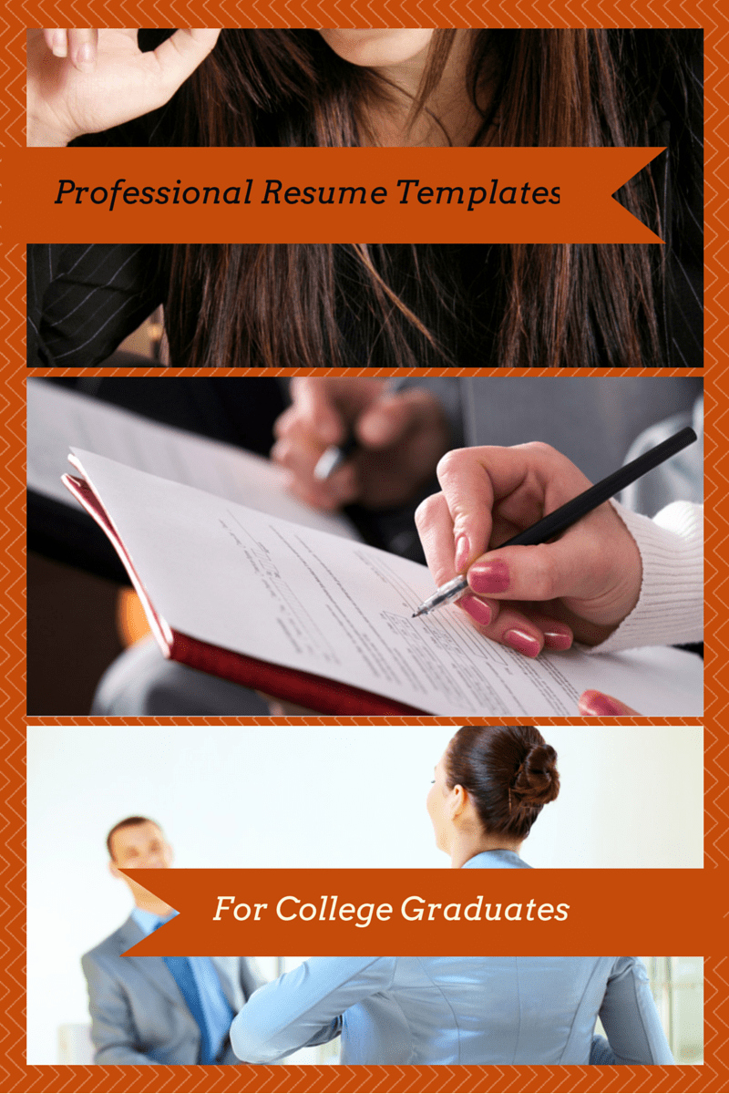 College Graduate Resume Template New Professional Resume Templates for College Graduates