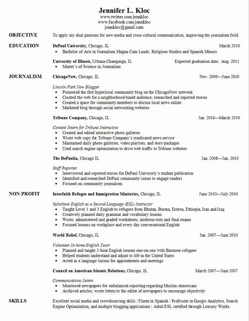 College Graduate Resume Template Unique Pin Oleh Jobresume Di Resume Career Termplate Free