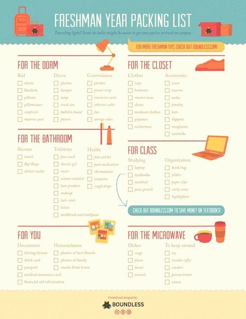 College Packing List Pdf Fresh 162 Best Tips From the Pros Images On Pinterest