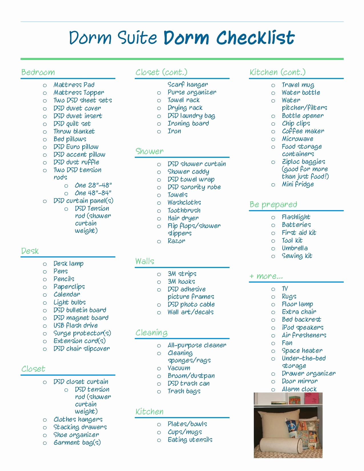 College Packing List Pdf Luxury Dorm Suite Dorm Apartment Checklist