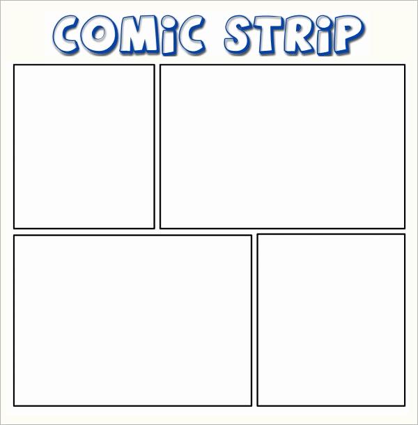 Comic Strip Template Pdf Beautiful Sample Ic Strip 6 Documents In Pdf