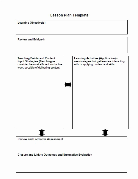 Common Core Lesson Plan Template Best Of 44 Free Lesson Plan Templates [ Mon Core Preschool Weekly]