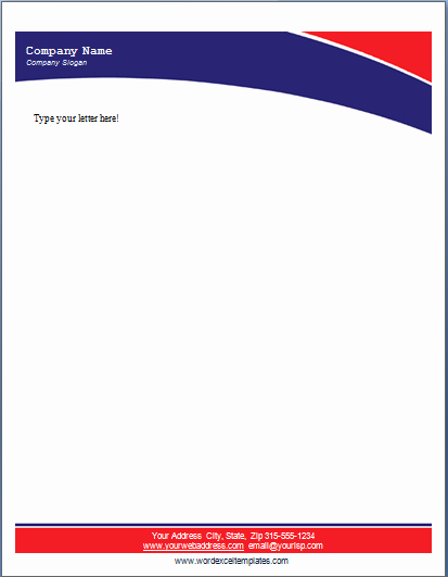 Company Letterhead Template Word Best Of 17 Pany Letterhead Templates Excel Pdf formats