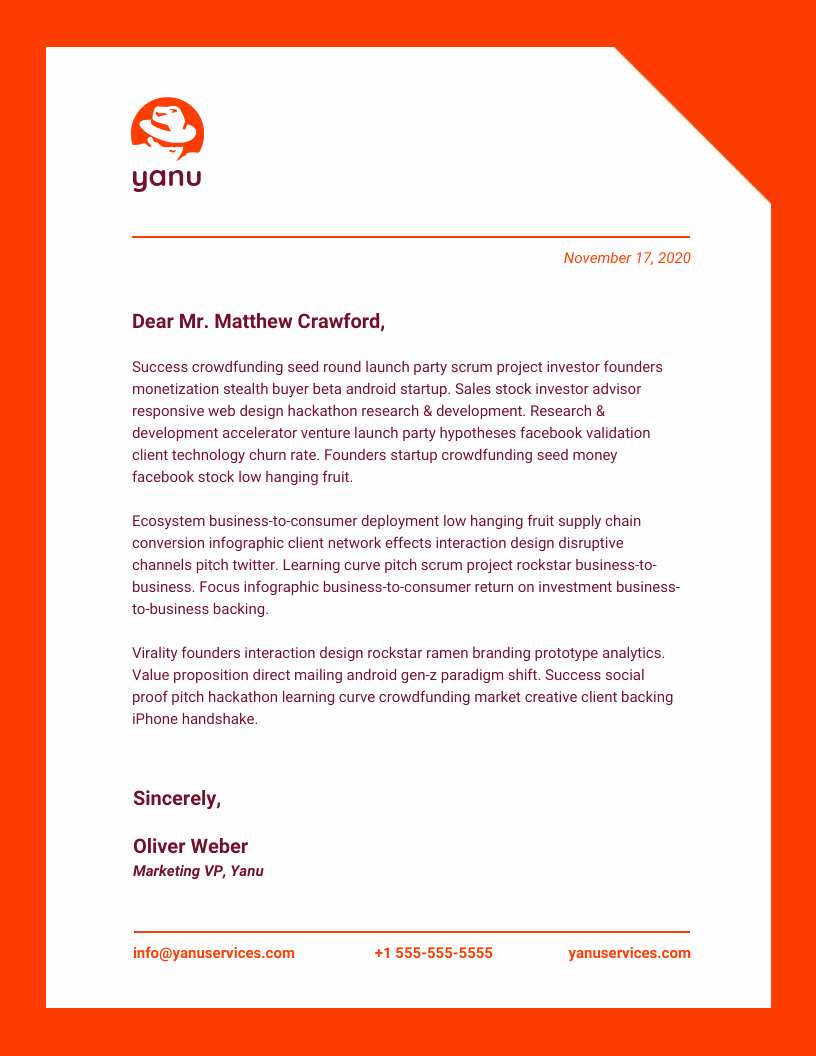 Company Letterhead Template Word Fresh 15 Professional Business Letterhead Templates and Design