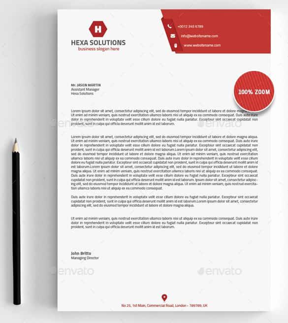 Company Letterhead Template Word Fresh 31 Word Letterhead Templates Free Samples Examples