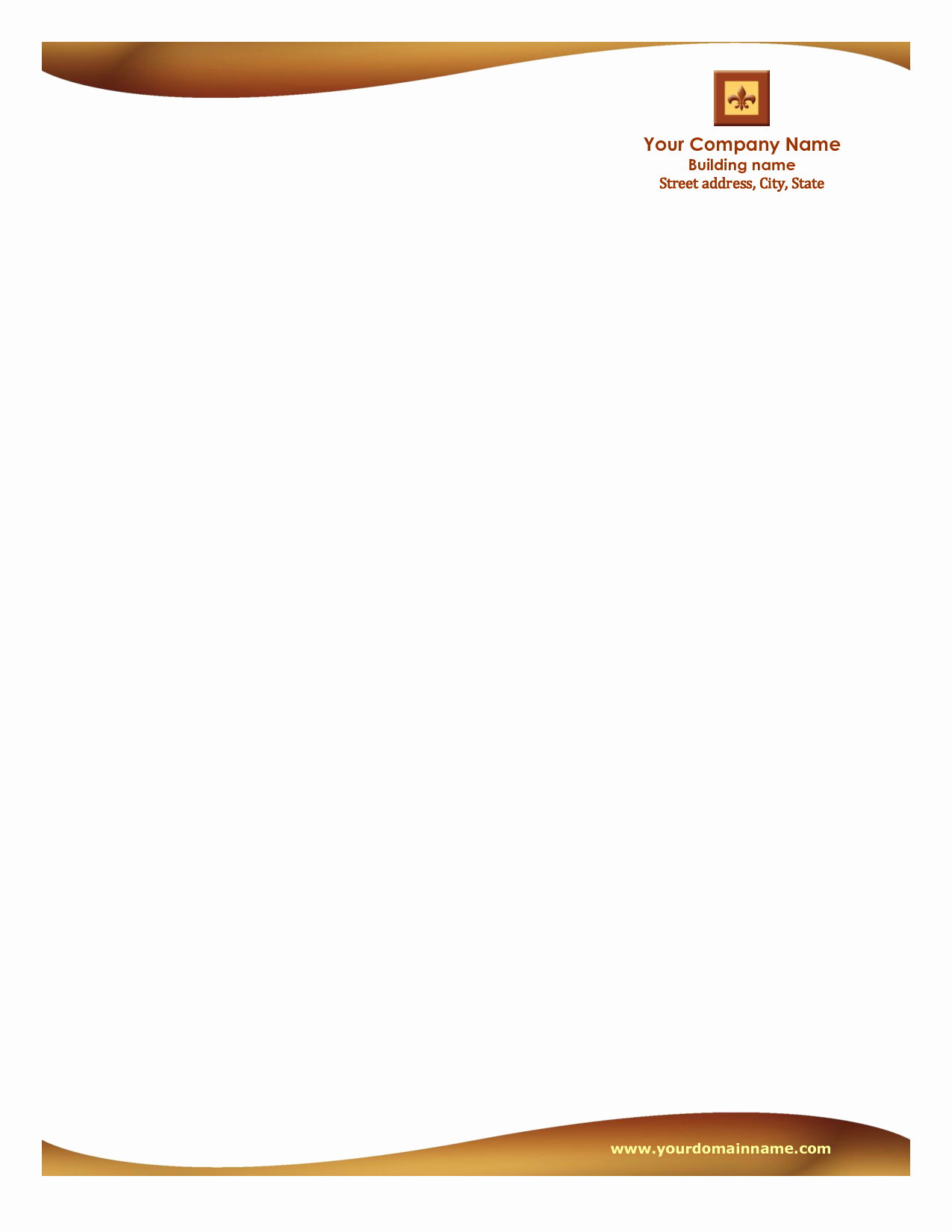 Company Letterhead Template Word Luxury Letterhead Templates Free