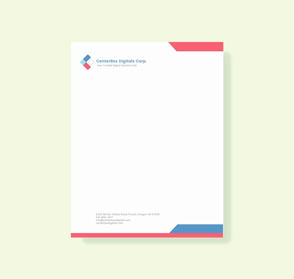 Company Letterhead Template Word New 32 Free Download Letterhead Templates In Microsoft Word