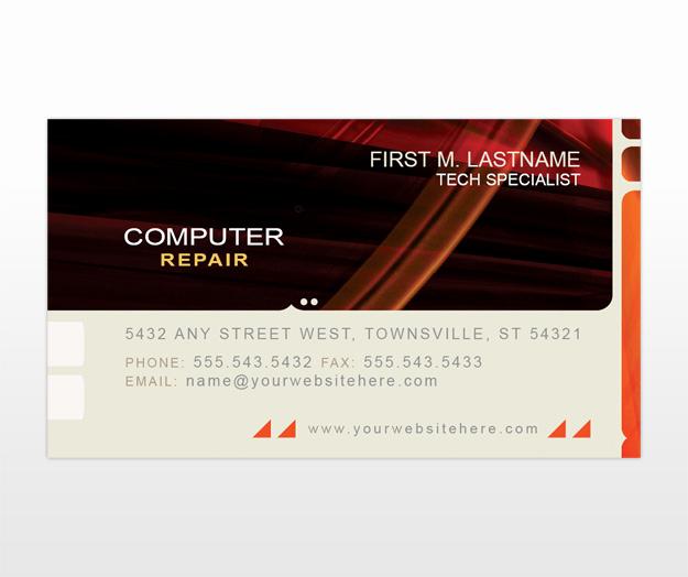 Computer Repair Business Cards Inspirational Puter Repair Business Card Templates Mycreativeshop