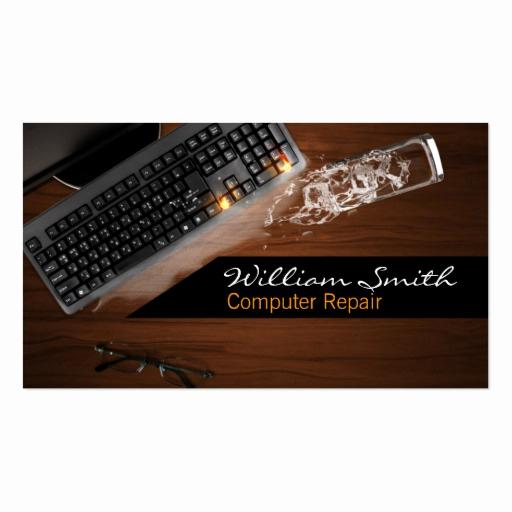 Computer Repair Business Cards Luxury Puter Repair Business Card Tarjetas De Visita