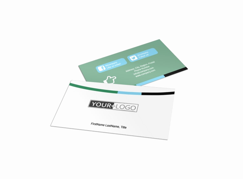 Computer Repair Business Cards Luxury Puter Repair Shop Business Card Template