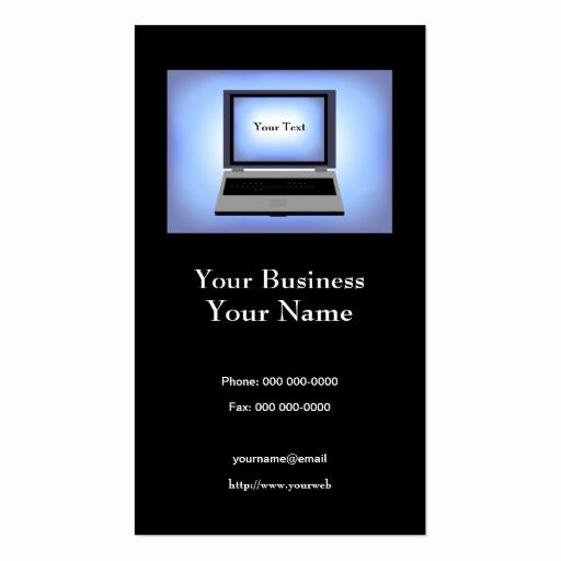 Computer Repair Business Cards New Puter Repair Business Card