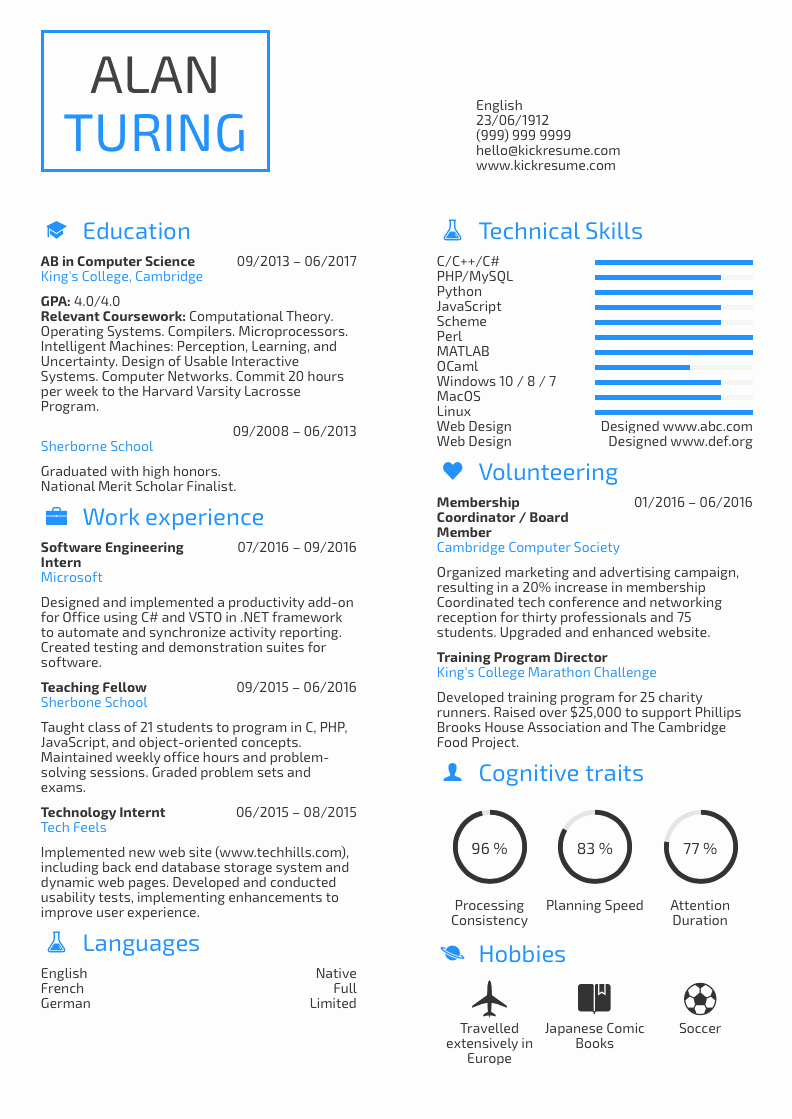 Computer Science Student Resume Awesome 10 Student Resume Samples that Will Help You Kick Start