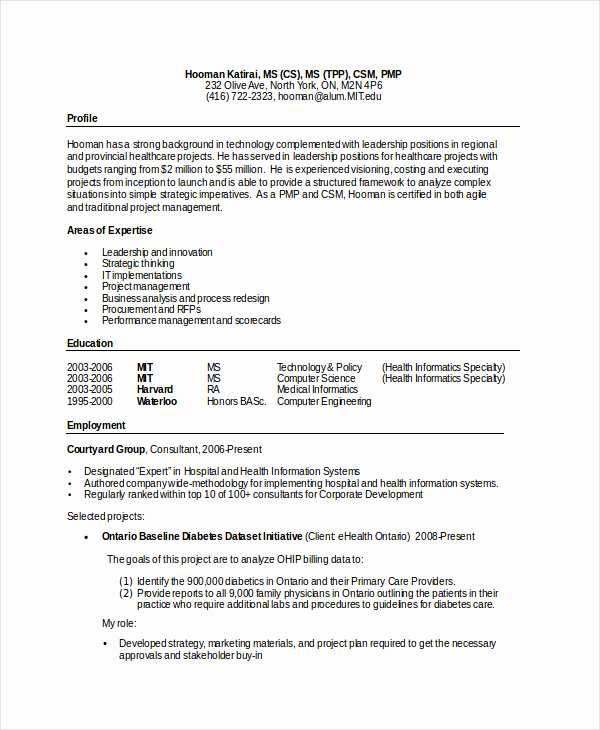 Computer Science Student Resume Inspirational Puter Science Resume Template for It Workers