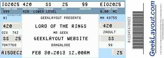 Concert Ticket Template Free Awesome Fake Concert Ticket Generator Wedding Planning
