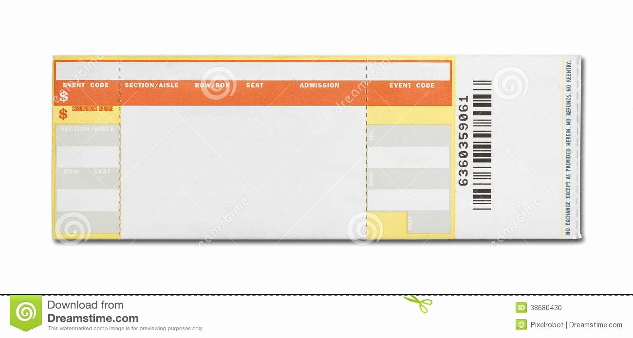 Concert Ticket Template Free Lovely 15 Awesome Ticketmaster Ticket Template Images