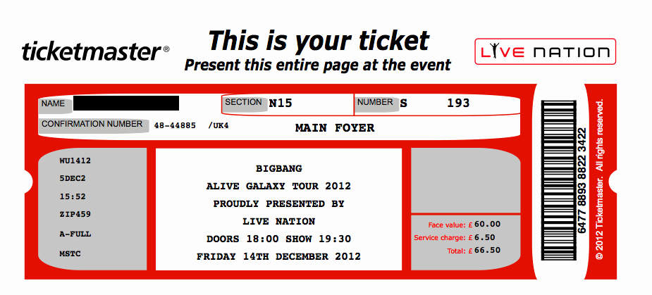Concert Ticket Template Free Lovely 26 Cool Concert Ticket Template Examples for Your event