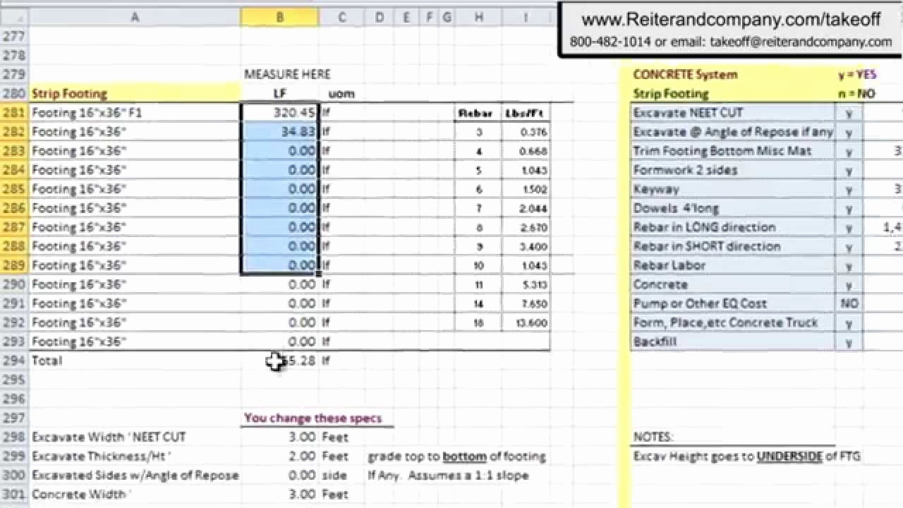 Construction Estimating Spreadsheet Template Unique Free Construction Estimating software
