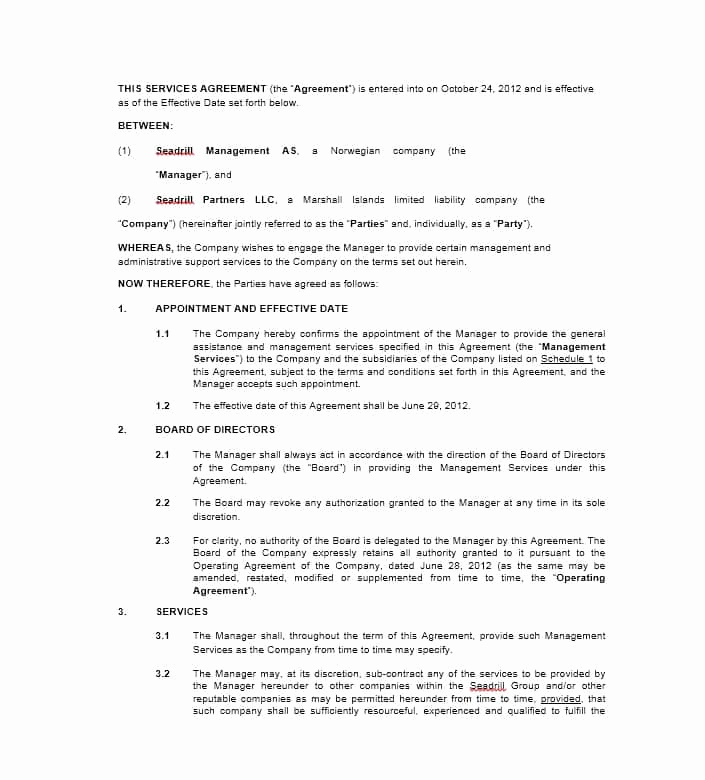 Contract for Services Template Best Of 50 Professional Service Agreement Templates & Contracts
