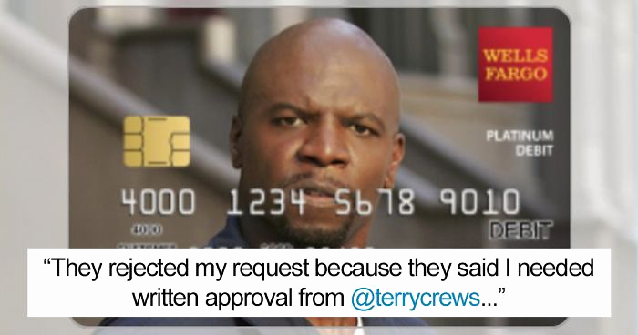 """Cool Debit Card Designs Awesome the Real Terry Crews Helps Woman Get """"terry Crews"""" Debit Card"""