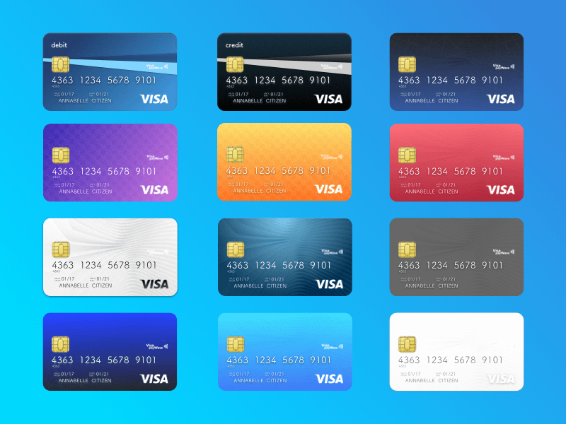 Cool Debit Card Designs New How to Activate Becu Visa Credit Card