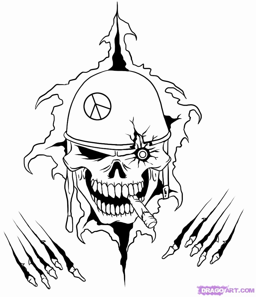 Cool Drawings to Draw New Free Easy Cool Skull Drawings Download Free Clip Art