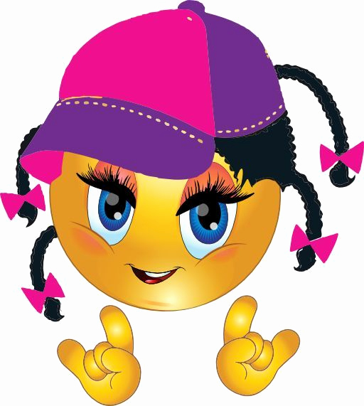 Cool Emoji Copy and Paste Awesome Fly Girl Smiley What Do You Think About It Emoji Funny