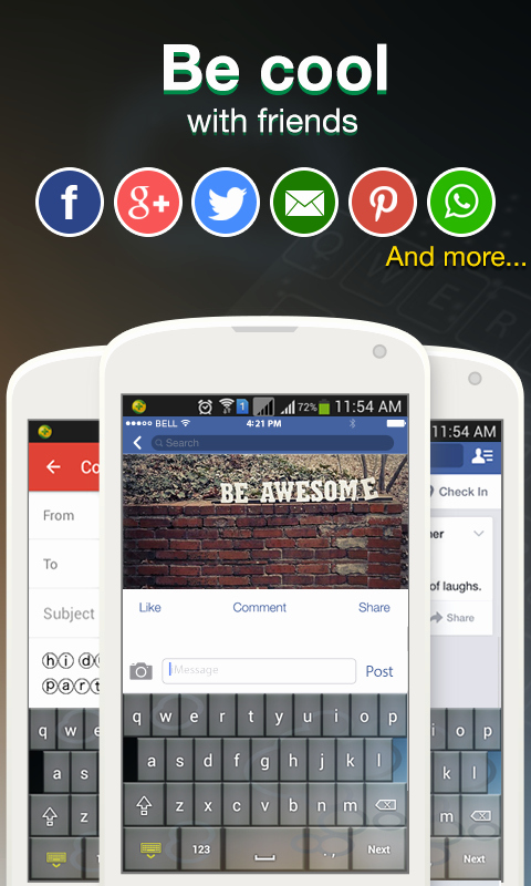 Cool Fonts for androids Elegant Cool Fonts for Whatsapp & Sms android Apps On Google Play