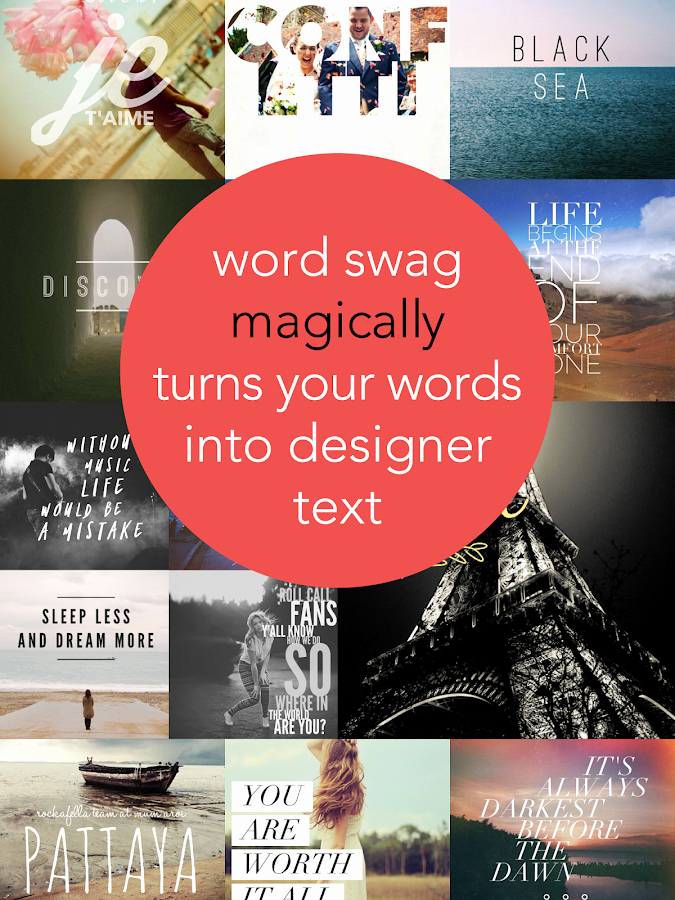 Cool Fonts for androids Inspirational Word Swag Cool Fonts Quotes android Apps On Google Play