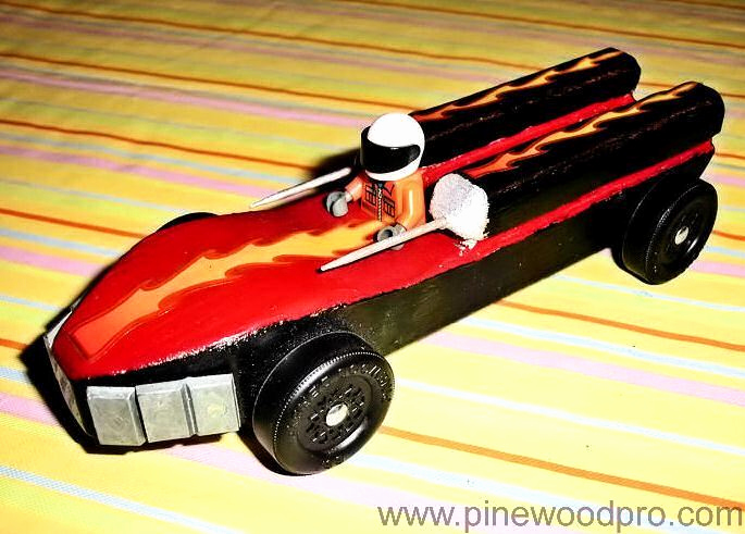 cool pinewood derby cars