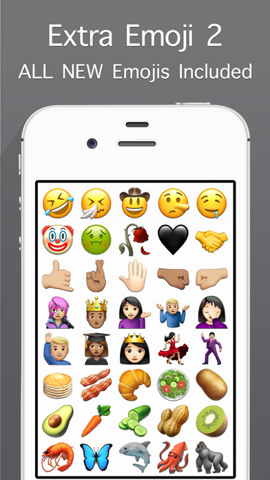 Copy and Paste iPhone Emojis New App Shopper Emojis for iPhone social Networking