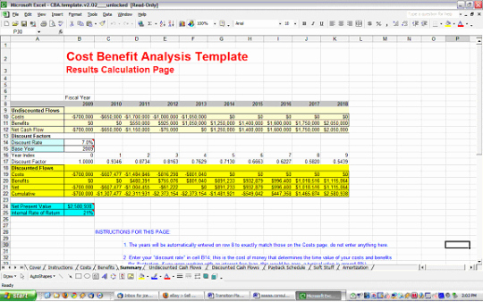 Cost Benefit Analysis Template Excel Awesome Cost Benefit Analysis Template Free and