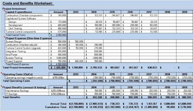Cost Benefit Analysis Template Excel Elegant 5 Cost Benefit Analysis Templates Excel Pdf formats