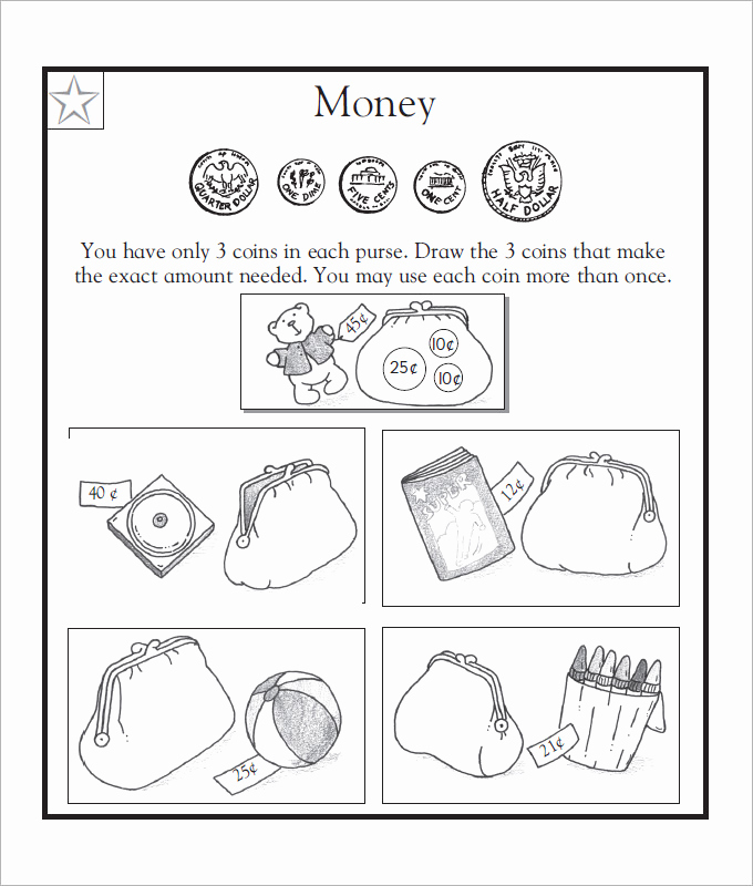 Counting Money Worksheets Pdf Awesome 27 Sample Counting Money Worksheet Templates
