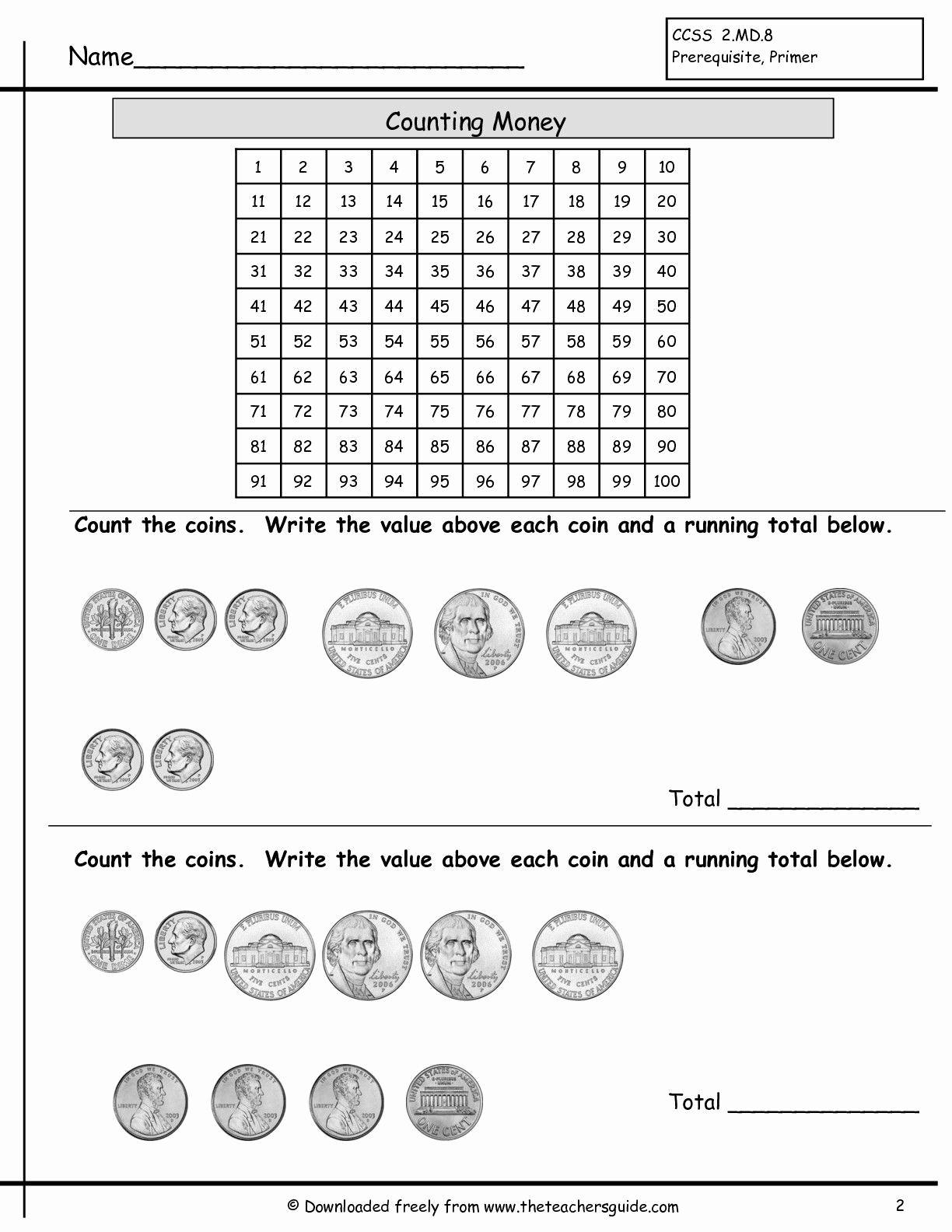 Counting Money Worksheets Pdf Best Of Counting Coins Worksheet Education