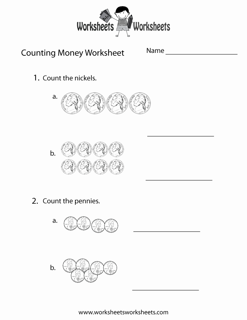 Counting Money Worksheets Pdf Luxury Practice Counting Money Worksheet Free Printable