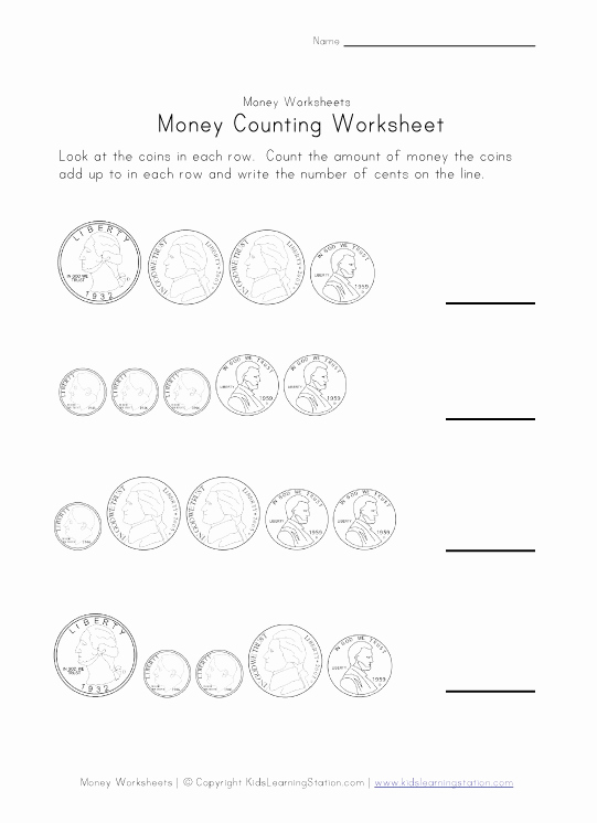 Counting Money Worksheets Pdf Unique 18 Best Of Esl Counting Money Worksheets Counting
