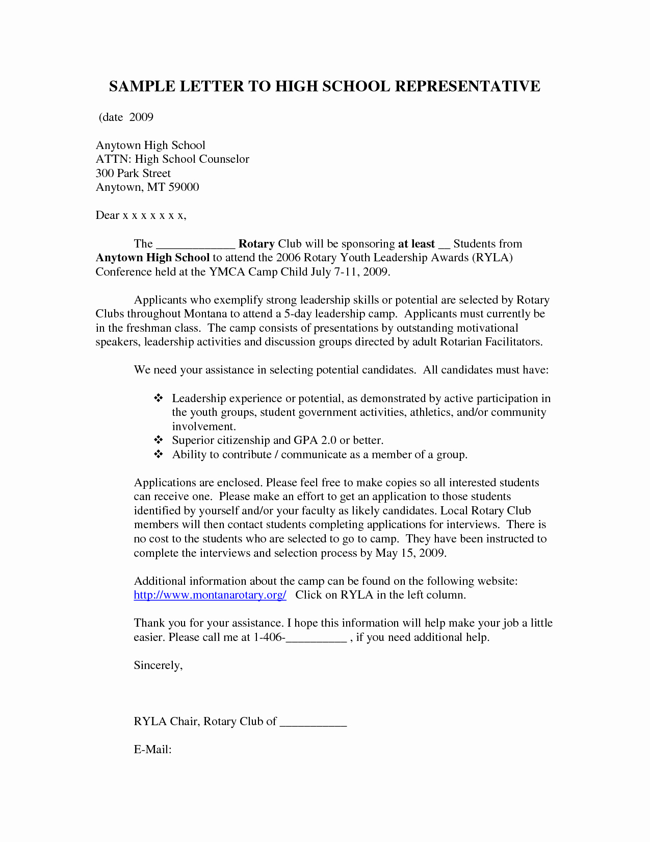 Cover Letter Examples for Students Unique Sample Cover Letter for High School Student with No Work