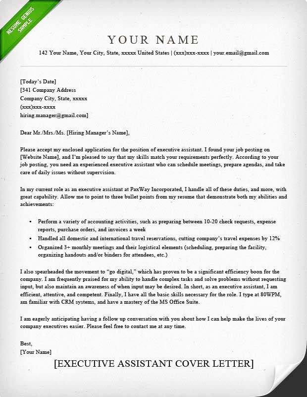 Cover Letter for Administrative Position Best Of Administrative assistant & Executive assistant Cover