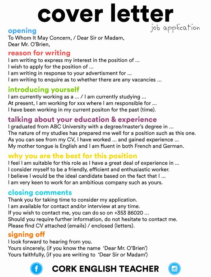Cover Letter for Employment Unique Best 25 Job Application Cover Letter Ideas On Pinterest
