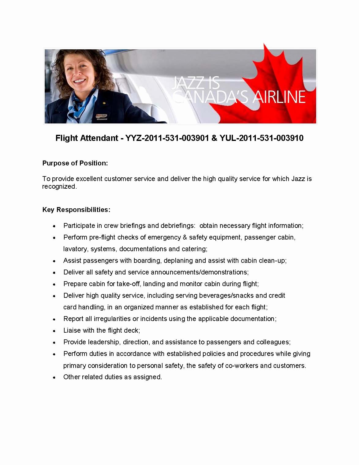 Cover Letter for Flight attendant Lovely New Flight attendant Cover Letter – Perfect Resume format
