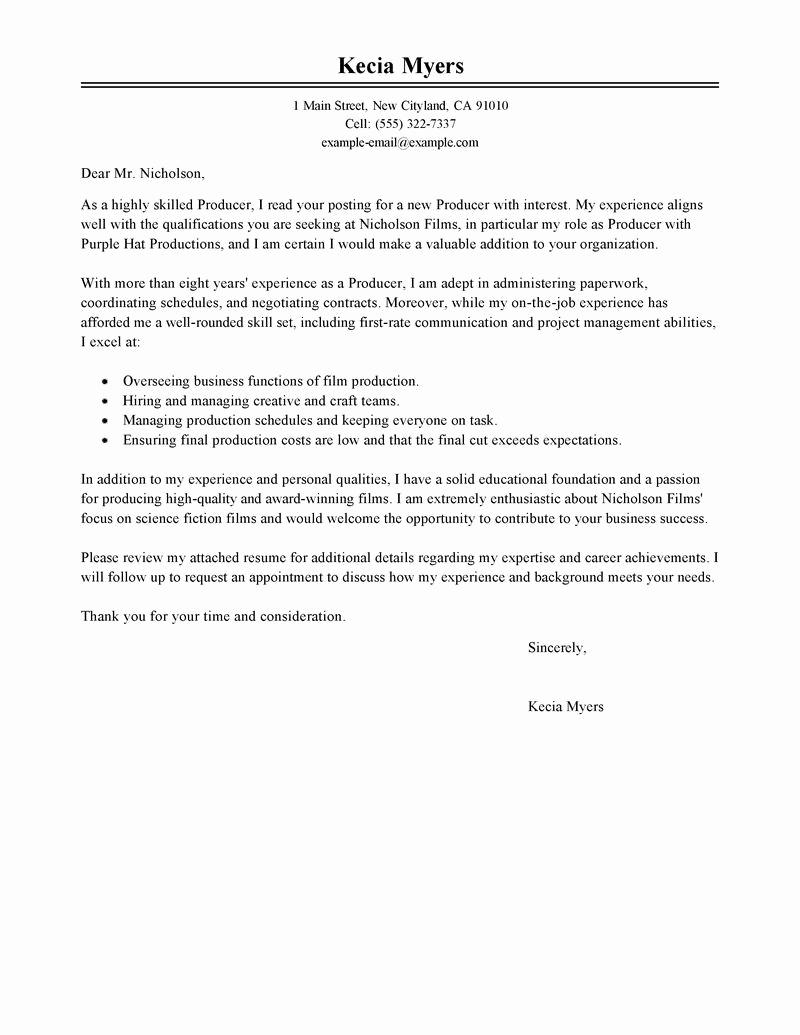 Cover Letter for Internship Examples Lovely Sports Marketing Cover Letter Internship Cover Letter
