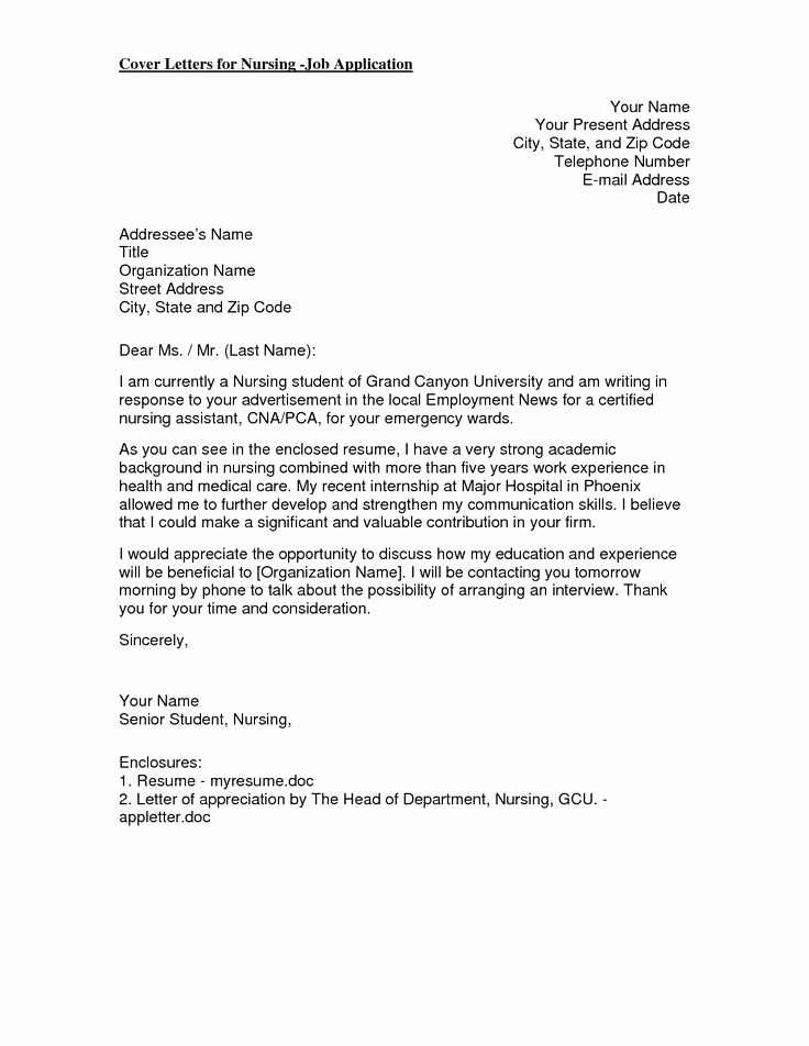 Cover Letter for Nursing Beautiful 17 Best Ideas About Nursing Cover Letter On Pinterest