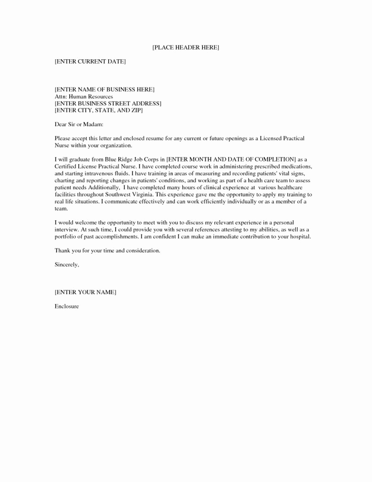 Cover Letter for Nursing Lovely Best 25 Nursing Cover Letter Ideas On Pinterest