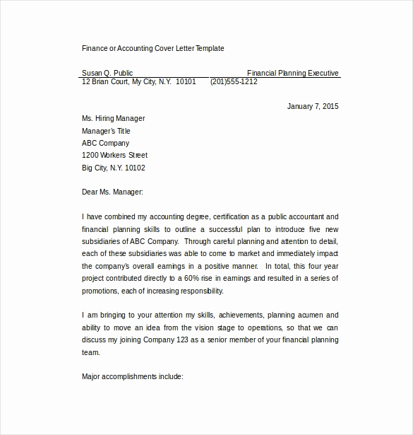 Cover Letter Free Template Awesome 17 Professional Cover Letter Templates Free Sample