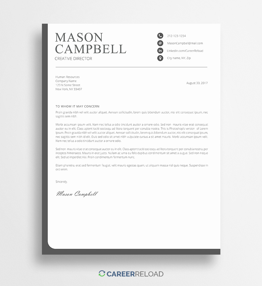 Cover Letter Free Template Fresh Download Free Resume Templates Free Resources for Job
