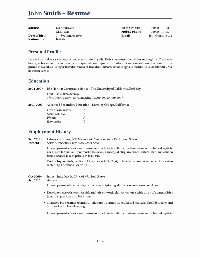 Cover Letter Latex Template Inspirational Latex Cv Template Mit