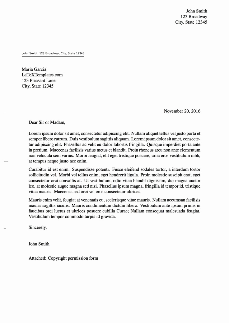 Cover Letter Latex Template Luxury 82 Best Images About Latex Templates On Pinterest